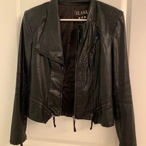 Blank leather jacket